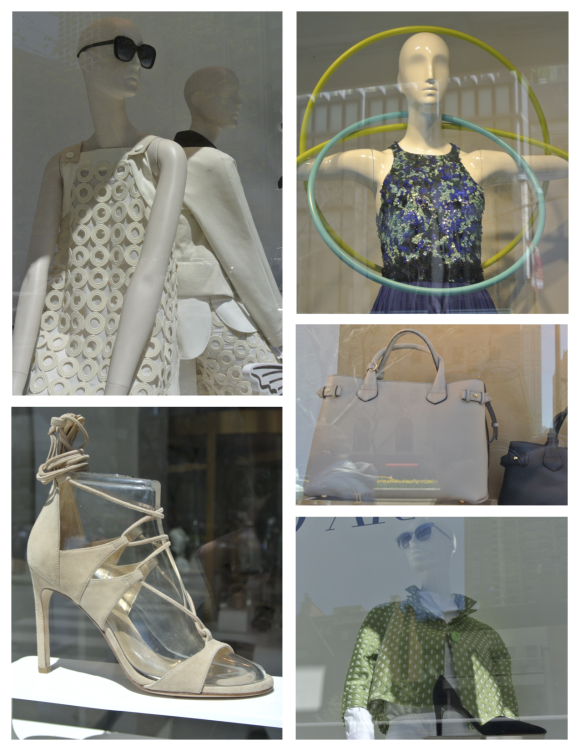 Fashionable Windows In Chicago April 2016