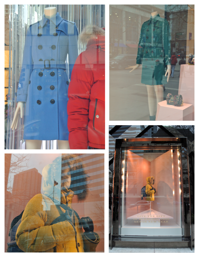 The Windows Of Burberry