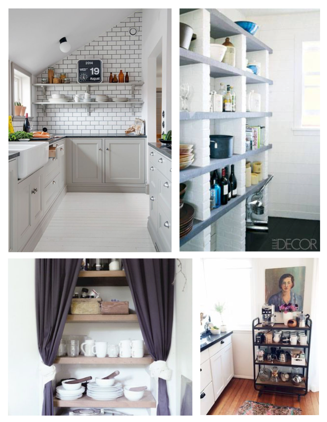 Creative & Unexpected Storage Of Kitchen Essentials