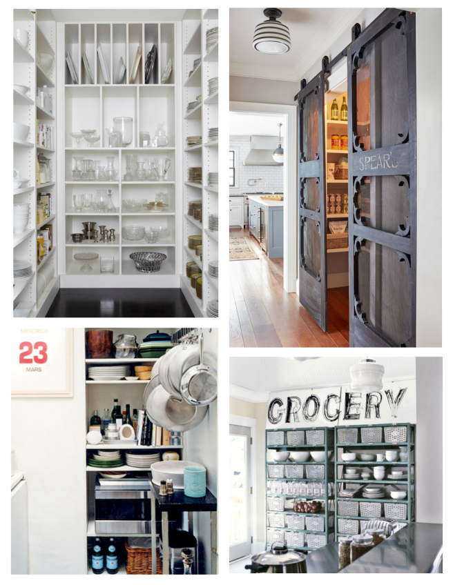 Storage & Interior Style:  The Pantry