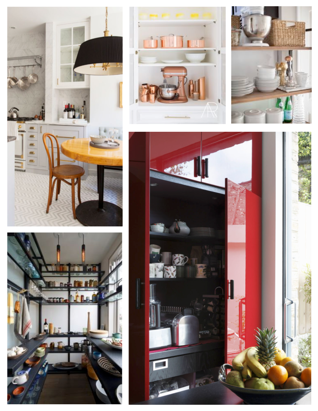 Pantry Variations:  Stored & On View